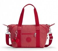 BORSA A MANO E TRACOLLA KIPLING ART MINI K01327 SPICY RED T69 SCONTATA