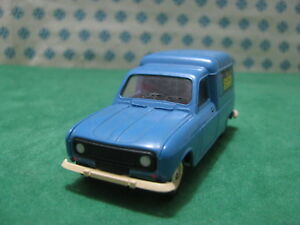 Vintage  -  RENAULT 4 Fourgonnette Solido  -  1/43 Solido Ref. 42