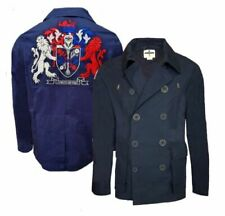 Cotton Outer Shell Big & Tall Overcoat Coats & Jackets for Men