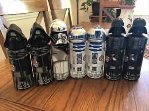 Lot Of 7 Super Miracle Bubble Solution Star Wars Characters brand new sealed