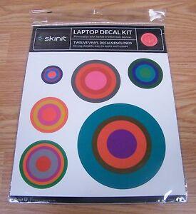 Skinit Laptop Decal Kit - Twelve Vinyl Circle Design Decals Enclosed! **NEW**