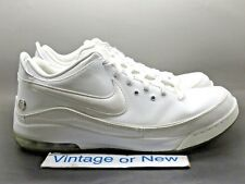 sports shoes 88560 1c21d Nike Air Max LeBron VII 7 Low White Silver 2010 sz 11
