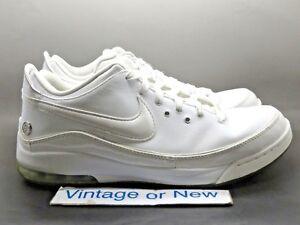 Nike Air Max LeBron VII 7 Low White Silver 2010 sz 11