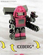 ICEBERG Transformers Kre-o Micro-Changers Series 4 38 Kreon New Sealed Armada