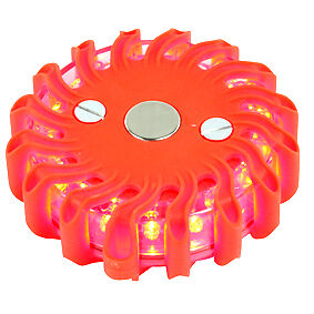 NEW 9 IN 1 BATTERY OPERATED SAFETY WARNING 16 LED LIGHT
