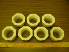 **Lot of 7** 3 - 2 1/2 inch SCH-40 Threaded PVC Reducers *NOS* +