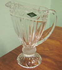 GORGEOUS SPARKLEY SHANNON 24% LEADED CRYSTAL OLYMPIA  PITCHER BY GODINGER!!!!!