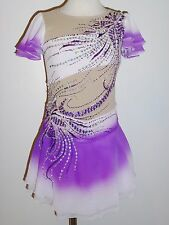 Custom Made To Fit Figure Ice Skating/ Dancing/ Baton Twirling Costume