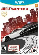NEW Need for Speed Most Wanted U Nintendo Wii U NTSC