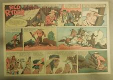 Red Ryder Sunday Page by Fred Harman from 7/30/1939 Half Page Size!
