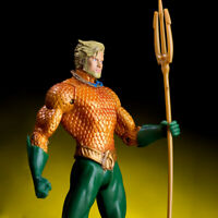 7'' Comics Aquaman Action Figure Justice League Hero Arthur Curry Toy Collection