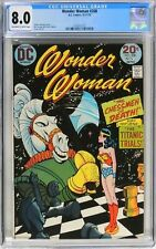 Wonder Woman #208 (1973) CGC 8.0 Classic Ric Estrada Vince Colletta Chess Cover