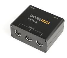 DOREMiDi MIDI THRU-3 Thru Box Controller
