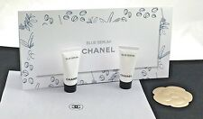 "CHANEL ""BLUE SERUM"" LONGEVITY SERUM *ON THE RED CARPET* 2 SAMPLE SIZES+BROCHURE"