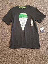 "Men's NIKE T-Shirt Graphic Black ""2 COLD 2 HOLD"" SNOWCONE***BASKETBALL (S) NWT"