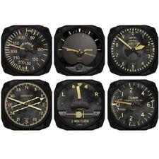 Trintec Vintage Aircraft Instrument Coaster - Set of 6 - 9045