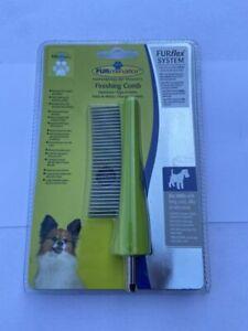 FURMINATOR FURFLEX DOG GROOMING FINISHING COMB FOR DOGS LONG CURLY SILKY COATS
