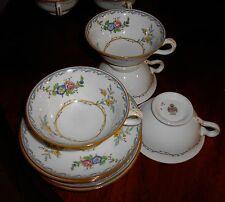 Minton MELROSE B1289 Set of 4 Cups & Saucers