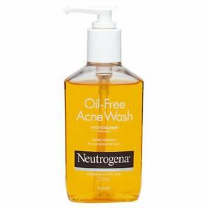 Neutrogena Oil Free Acne Face Wash, 175ml FREE SHIPPING
