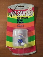 Rare Vintage 1982 Remco Toys Lifesavers Scented Mini Dolls New Mike E. Mint