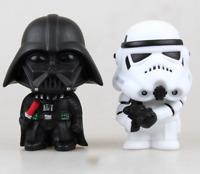 10cm Star Wars Action Figure Darth Vader Stormtrooper Toys Awakens Clone Yoda