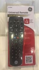 *NIP* GE Universal Remote 4 Devices Audio/Video 24944 - New
