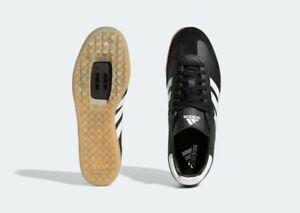 adidas velosamba cycling shoes spd size Uk 7 Black