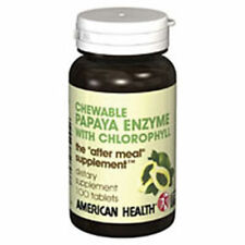Papaya Enzyme With Chlorophyll 100 Chewable Tablets