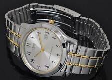 Casio MTP-1141G-7B Men Analog Two Tone Stainless Steel Water Resistant Watch