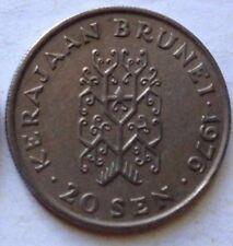 Brunei 2nd Series 20 sen 1976 coin