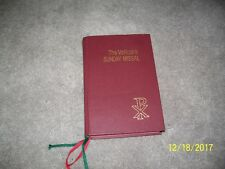 The Vatican II Sunday Missal A B C Cycles from 1975 to 1999 and Thereafter 1974