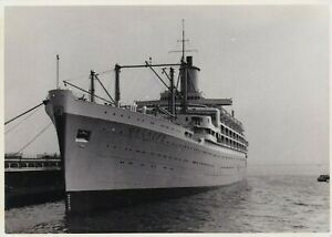 OLD PHOTO SHIP CRUISE LINER ORCADES BX1
