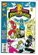 Mighty Morphin Power Rangers #1 Marvel 1995 NM 9.4+ Sabans. Ron Lim cover.
