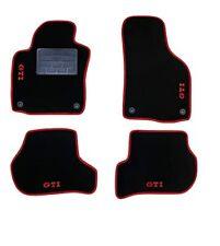 Tappeti Tappetini per  Golf V/VI GTI in moquette fermi d fissaggio 4 loghi rossi