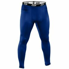 Adams Men's Blue Compression Tights Sot and Breathable Size Medium