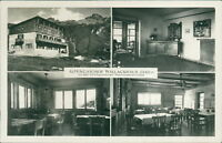 Ansichtskarte Alpengasthof Wallackhaus Großglockner-Hochalpenstrasse (Nr.912)