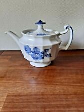 TEAPOT BLUE FLOWER Angular Royal Copenhagen # 10-8503 Fact. 1.