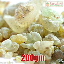 Pure Green Guggul Guggal 200 gm. - pooja pujan / havan - Commiphora hurb indian