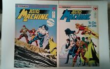 Justice Machine issues #5 & 7 (Comico,1987)
