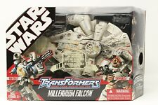 HASBRO STAR WARS TRANSFORMERS MILLENIUM FALCON 2007 TOY