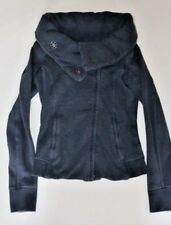 LULULEMON KARMACOLLECTED JACKET Heathered Inkwell size 4 Studio Yoga Gym Fun