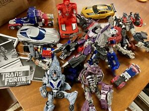 Lot of Transformers Figures - Miscelaneous Robots - Used