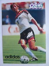 Guido Buchwald on 1994 World Cup adidas Post Card Germany