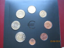 Portugal 2004 Official UNC 8 Coin Collection Set: Cent ~ 2 Euro in info folder
