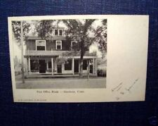 Antique Private Mailing Postcard Publisher A.E.Lathrop Store Simsbury Ct Pmc