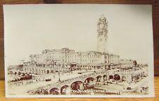 Vintage Railway Station Real Photo Postcard - Sydney Australia