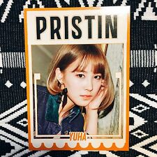 [PRISTIN Yuha] Photocard Official Profile Hi! Pristin 1st Mini Album 유하 Wee Woo