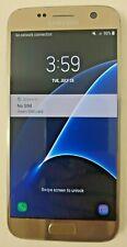 Samsung Galaxy S7 (SM-G930P) - 32GB - Gold Platinum