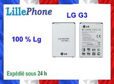 Batterie neuve pour LG G3 BL-53YH 3000 mAh 100 % originale