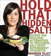 Hold That Hidden Salt!: Recipes for delicious alternatives to-ExLibrary